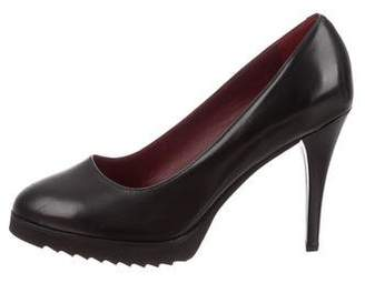 Anyi Lu Leather Platform Pumps w/ Tags