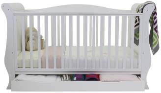 babystyle Hollie Sleigh Cot Bed - White