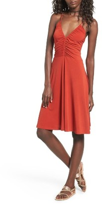 Women's Leith Cinch Front Dress $59 thestylecure.com