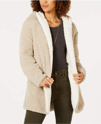 Style&Co. Style & Co Reversible Faux-Sherpa Jacket, Created for Macy's