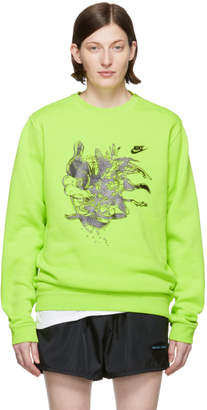 Nike Erl ERL Green Edition Witch 4 Sweatshirt