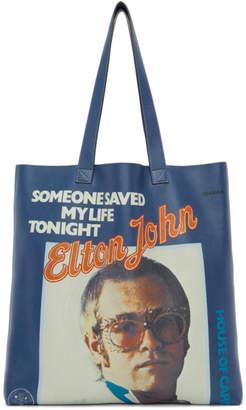 Gucci Blue Large Elton John Tote