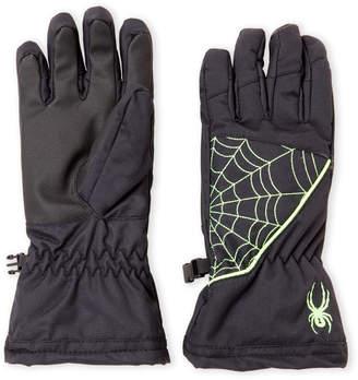 Spyder Boys 8-20) Neon Web Performance Ski Gloves