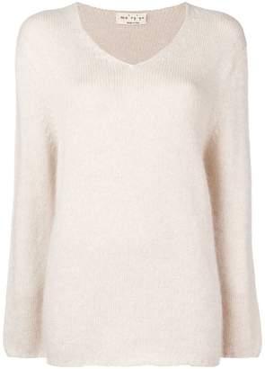 Ma Ry Ya Ma'ry'ya longline v-neck sweater