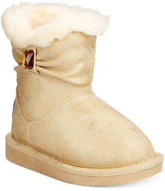 BEARPAW Robyn Faux-Fur-Lined Boots, Toddler Girls (4.5-10.5) $49.99 thestylecure.com