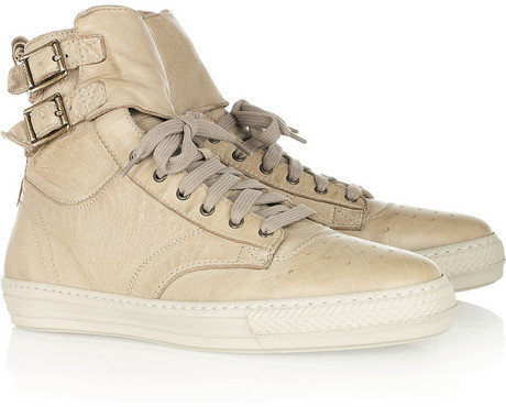 Burberry Shoes & Accessories High-top leather sneakers
