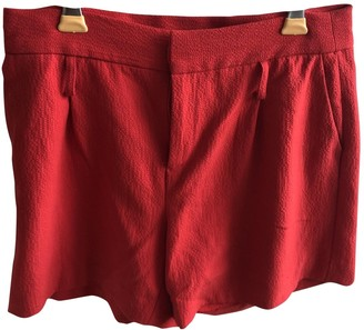 Les Petites Red Shorts for Women