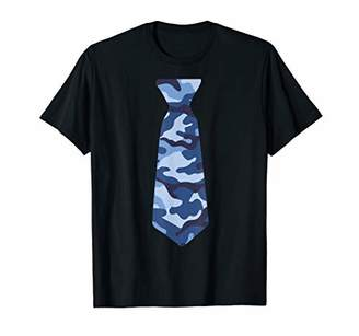 Not so formal shirt with tie on it camo tie casual Friday T-Shirt
