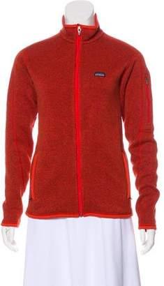 Patagonia Mock Neck Zip Sweater