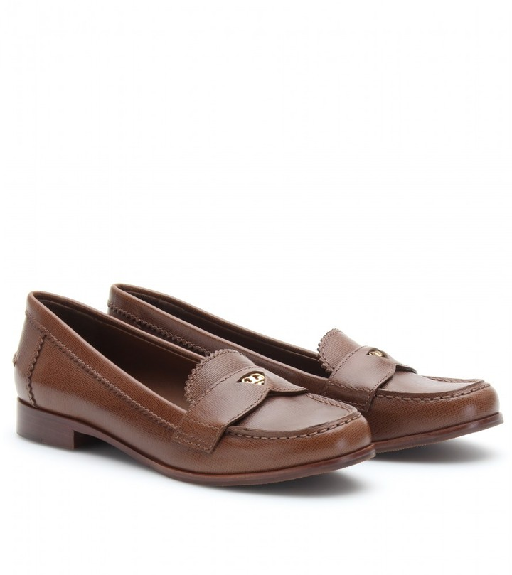 Tory Burch PENNIE LEATHER LOAFER