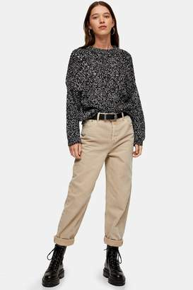 Topshop Womens Sand Balloon Jeans - Sand