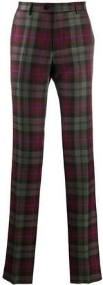 Etro casual tartan trousers