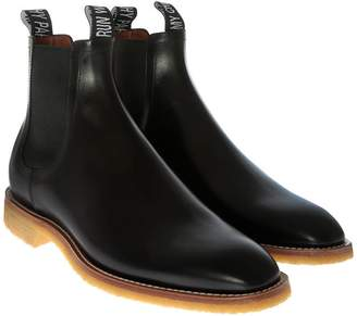 Givenchy Logo Tab Chelsea Boots