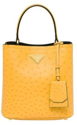 Prada Panier Ostrich Leather Bag