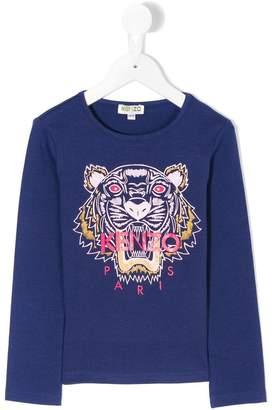 Kenzo Tiger print top