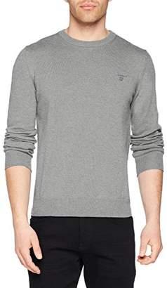 Gant Men's Summer Cotton Crew Sweater Jumper