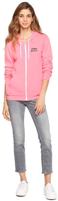 Milly GIRL BOSS ZIP UP HOODIE