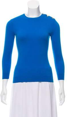 Ralph Lauren Scoop Neck Cashmere Sweatshirt