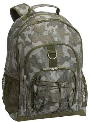 Pottery Barn Teen Gear-Up Heathered Olive Camo Backpack