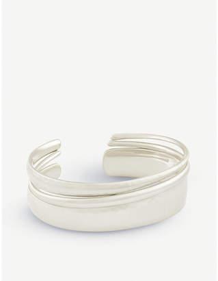 Kendra Scott Tiana Pinch bracelet silver-played bracelet