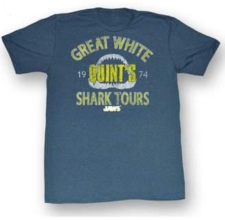 American Classics Jaws Men's Shark Tour T-shirt Pacific Blue Triblen
