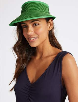 Marks and Spencer Woven Visor Hat