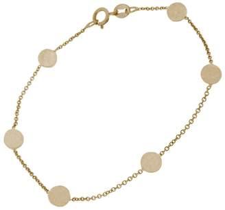 Jennifer Meyer Circle Chain Bracelet - Rose Gold