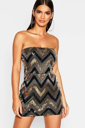 0ffb2547be boohoo Gold Sequin Dresses - ShopStyle Canada
