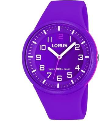 Lorus Women's RRX57DX9 Silicone Quartz Watch