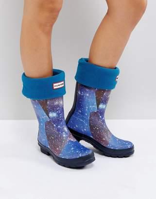 Hunter Blue Short Boot Socks