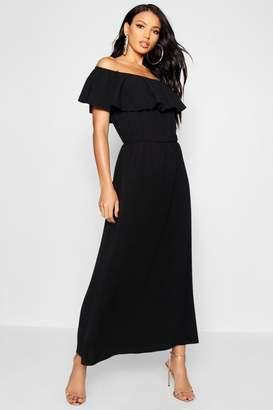 boohoo Bardot Maxi Dress