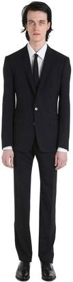 Dolce & Gabbana Stretch Wool Toile Suit
