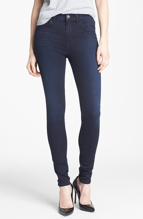 J Brand '2311 Maria' High Rise Skinny Jeans (Atmosphere)