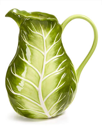 Martha Stewart Collection Farmhouse Cabbage Pitcher