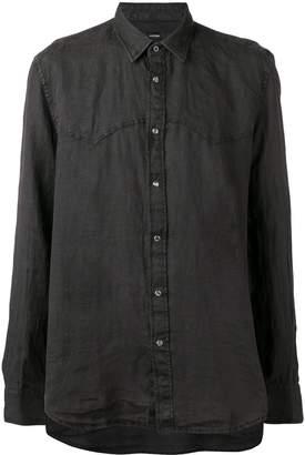 Diesel snap button fastening shirt