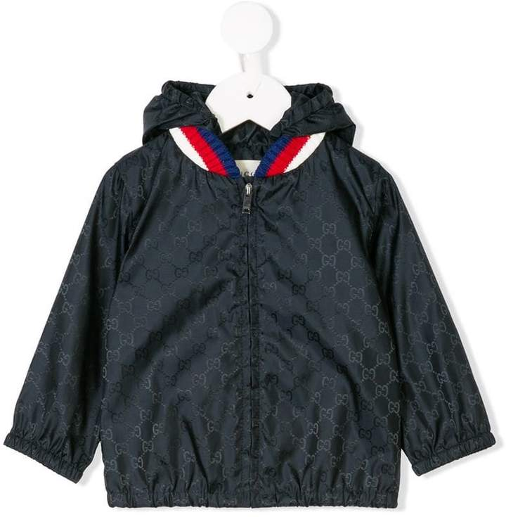 Gucci Kids monogram print jacket