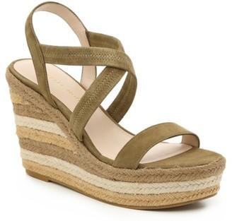 Pelle Moda Luxury Raia Espadrille Wedge Sandal