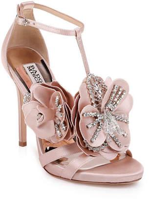512a9d88028c Badgley Mischka Lisa Two-Tone Sandals