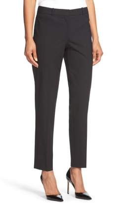BOSS Tiluna Tropical Stretch Wool Ankle Trousers