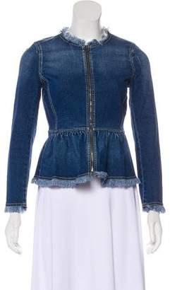Rebecca Taylor Denim Casual Jacket
