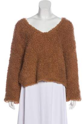 Demy Lee Shag Knit Sweater