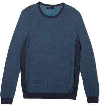 Vince Camuto Mens SPACE DYE CREW NECK