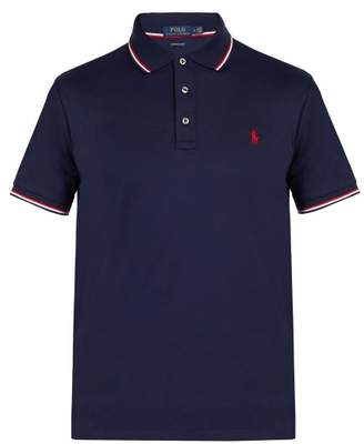 Polo Ralph Lauren Slim Fit Cotton Jersey Polo Shirt - Mens - Navy