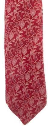 Valentino Silk Jacquard Tie