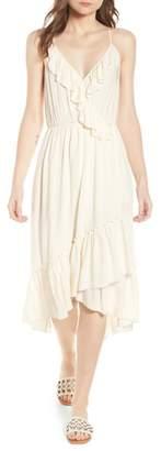 Scotch & Soda Wrap Style Midi Dress
