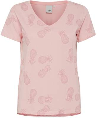 Ichi Pink Pineapple T-Shirt