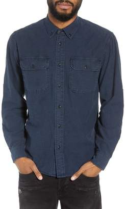 Hudson Jeans Regular Fit Chambray Sport Shirt