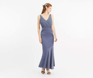 Oasis Slinky Bow Maxi Dress