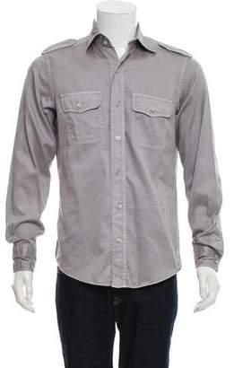 Tom Ford Woven Utility Shirt