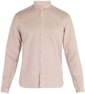 Oliver Spencer Tab-collar linen shirt